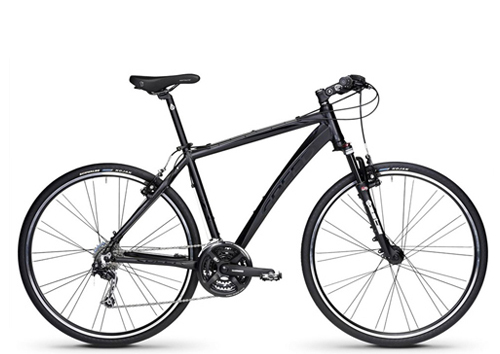 Hybrid touring bike for rent in Milan Italy for cycling holidays